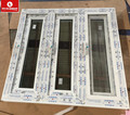 Modern design PVC/Upvc Plastic material windows manual crank window