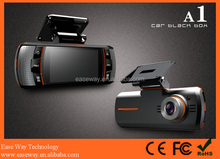K-A1 360 view car camera system 360 degree car security camera , dual lens GPS car DVR