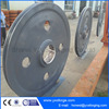 Wholesale Casting and Forging Iron Flying Wheel,V-Belt Pulley Wheel with Bearings