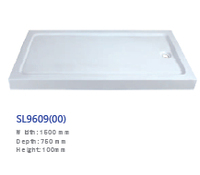 shower tray size in 1500*750*100mm for bathing