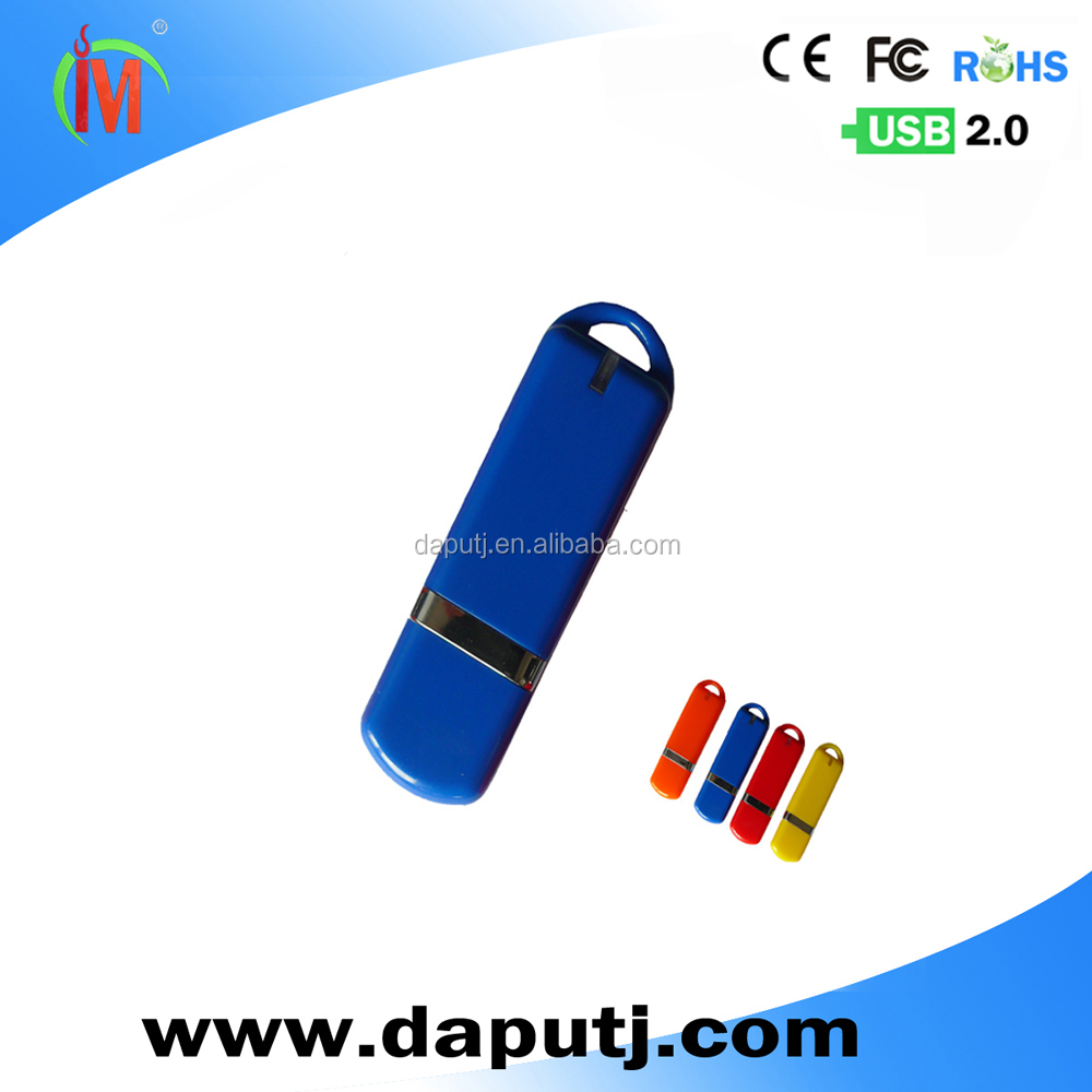 Convenient common use plastic usb flash drive with large capacity
