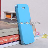 FL2664 Guangzhou hot selling side opening magnetic pu leather wallet case cover for iphone 5