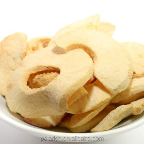 Dried food -apple chips natual flavor & taste