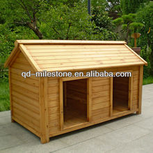 wood pet house double dog houses