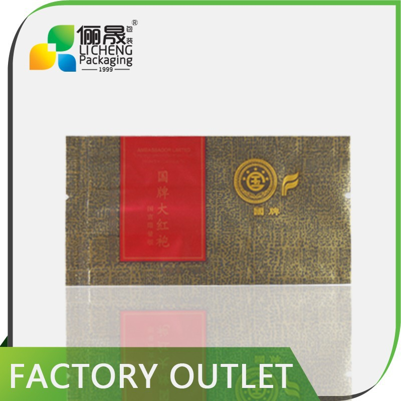 hot sale products custom plastic bag printing empty tea bags wholesale