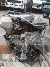 japan stock of 4HG1T engine assembly with transmission assy MYY5T for NPR ELF truck & BOGDAN bus