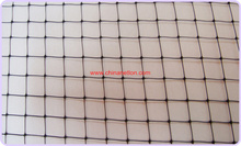 Extruded agriculture and garden anti bird net