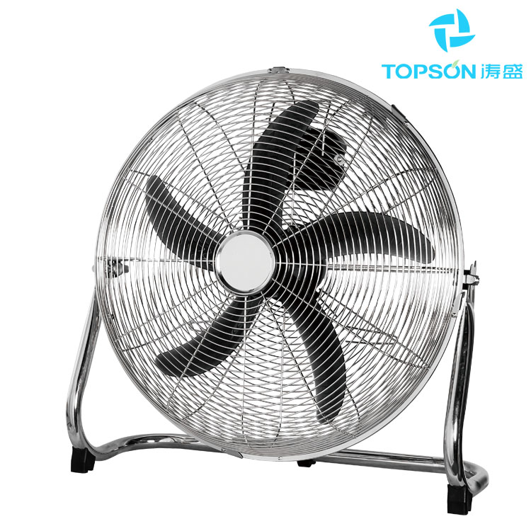High Velocity Fan Blade : Quot high velocity floor fan with