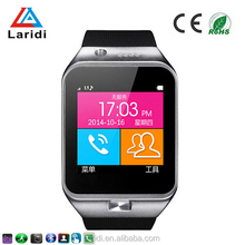 Hot selling products digital GV09 bluetooth speaker watch pron movies support SIM card and TFT card