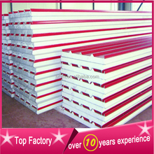 PU roof sandwich panel for factory house installation