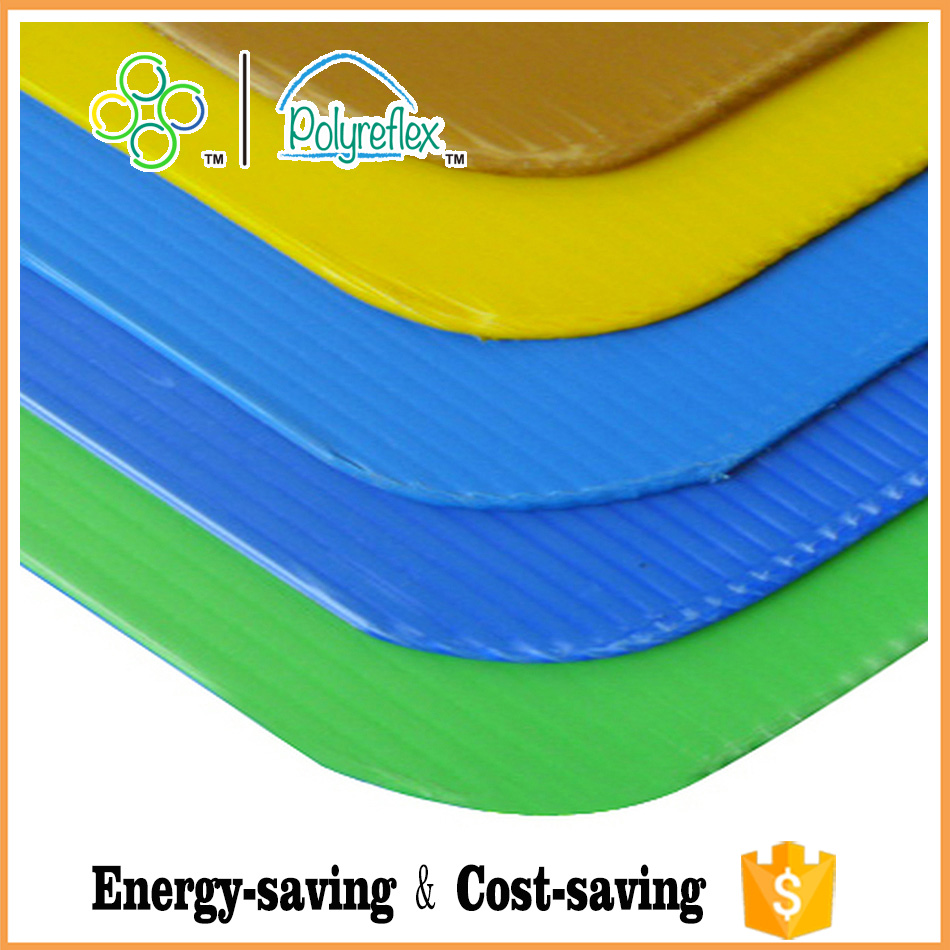 PP corrugated plastic bottle pallet sheet corflute edges sealed sheet/board