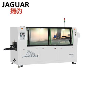 350MM PCB wave soldering machine for pcb soldering