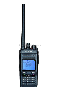 HYS Digital TC-819DP VHF+UHF 136-174/ 400-470 MHz MHz 5W GPS RX Positioning GPS Scan dual band DPMR GPS digital two way radio