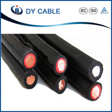 Low smoke no helogen TUV approved twin 4mm2 solar cable
