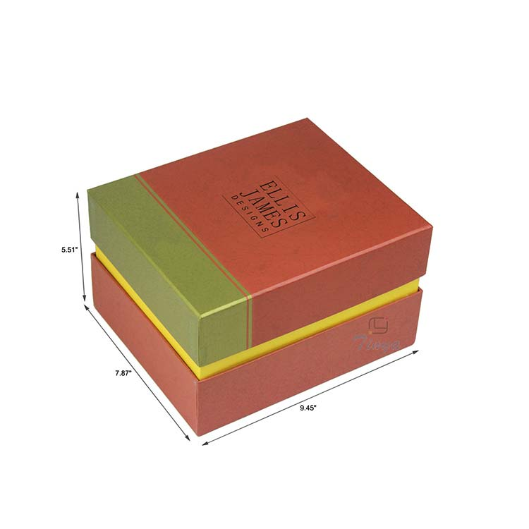 Treasure wedding used paper box for jewelry wholesale