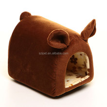 Best Selling China Factory Supply Design Dog Bed Luxury Nap cloth piggy house IPET-PB13