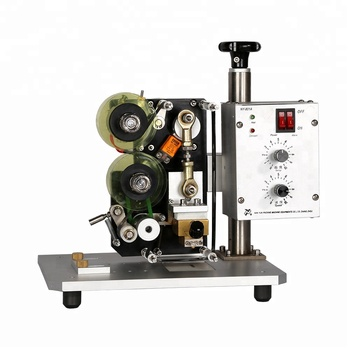 NY-801A Manual Semiautomatic Date Expiry Coding Machine