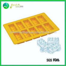 Hot selling food grade custom silicone ice cube form