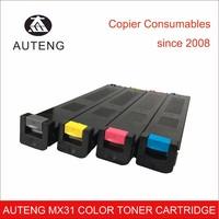 Compatible sharp MX31 color toner cartridge for MX-2600n MX3100n MX4100n MX5000n MX4101n MX5001n