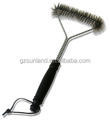 Far More Durable Stainless Steel Bristles Bbq Grill Brush