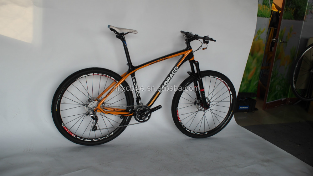 "Stock, Light weight complete carbon bicycle for sale 15.5""/17""/20"" frame carbon quadro de carbono 29er manufacturer"