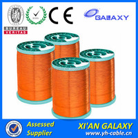 Self adhesive copper winding wire and price, self bonding Enameled Wire for small coils, enameled copper wire for winding,155C