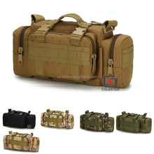 Outdoor Multi Purpose Tactical Camera Waist Bags / Tan Military Army Sling Bag Pack