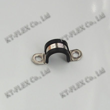 U Shape Cable Clip with EPDM Coated Stainless Steel Cable Clip