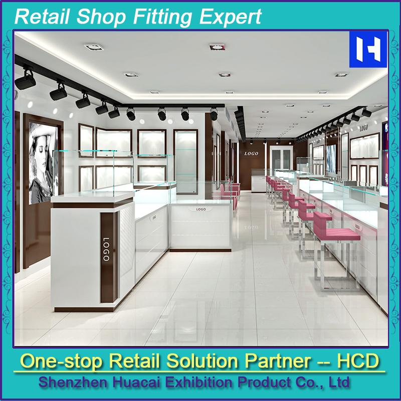 New design acrylic jewelry shop interior design/jewelry store furniture/jewellery shop furniture