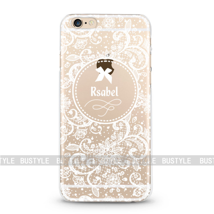 3D embossing Soft Plastic lace pattern Mobile Phone Shell Case for iphone 6s plus for samsung galaxy s7 edge J2 phone case