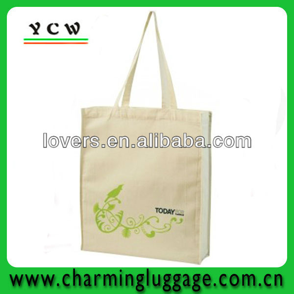 Natural organic cotton tote bags tote wholesale