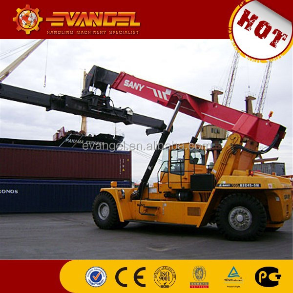 iso container lifting equipment, 45ton SANY SRSC45C30 lift stackers