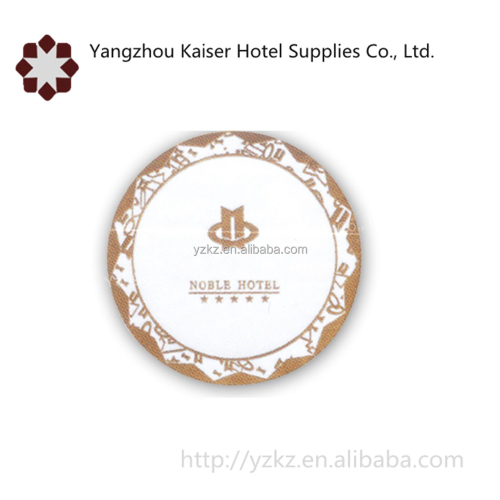 china disposable pulpboard round drink coasters supplies