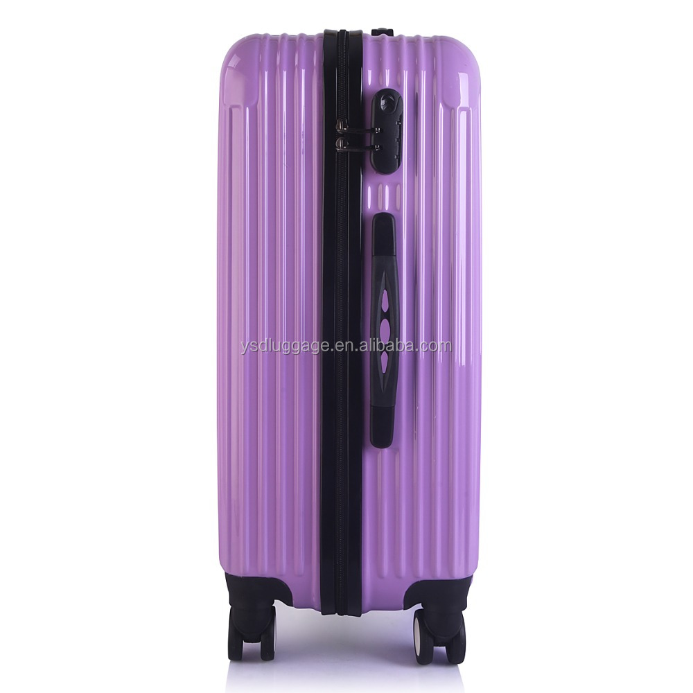 airport brand luggage with plastic luggage wheel cover