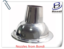 360 degree rotation Adjustable ball air shower nozzles ,strong cold wind blowing nozzle