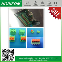 1 - 10 Number of Contacts and 11 - 20 AWG Conductor Size pluggable terminal block
