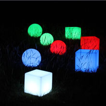 Outdoor globo/led outdoor ball/led round lamp in white color/multicolor