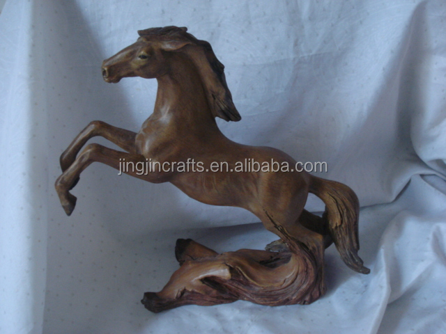 white polyresin horse sculpture for home,office and shop decor