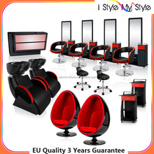 Modern design Commercial Furniture hair salon waiting sofa egg chair