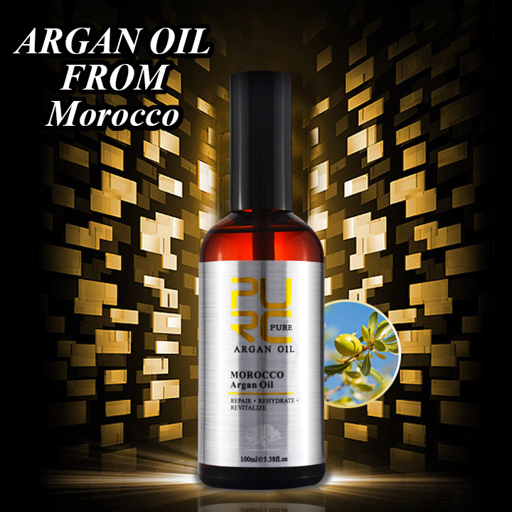 OEM good quality argan oil system for dyed hair and damaged hair
