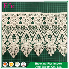 Make-in-china tiny motif french sewing tricot velvet little flower low price lace trimming