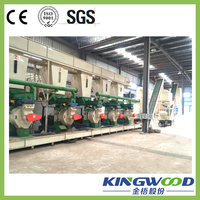 Factory price good wood pellet machine 4000-5000kg/h wood pellet production line