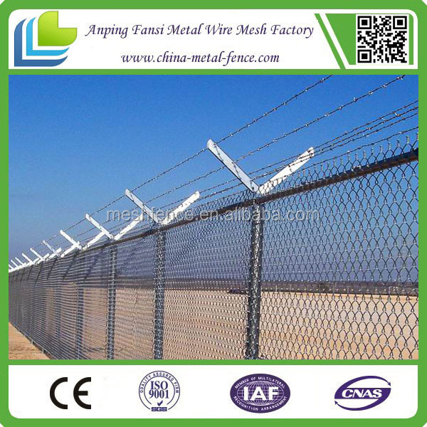 wholesale china plastic chain link fence/8x8 fence panels/chain link perimeter fence designs