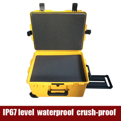 Tricases M2750 high impact watertight crushproof lightweight hard plastic equipment luggage