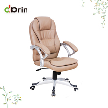 Luxury leather revolving manager executive racing office chair for sale