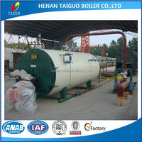 500kg/h small cheap industrial Oil /gas fired steam generator boiler for laundry