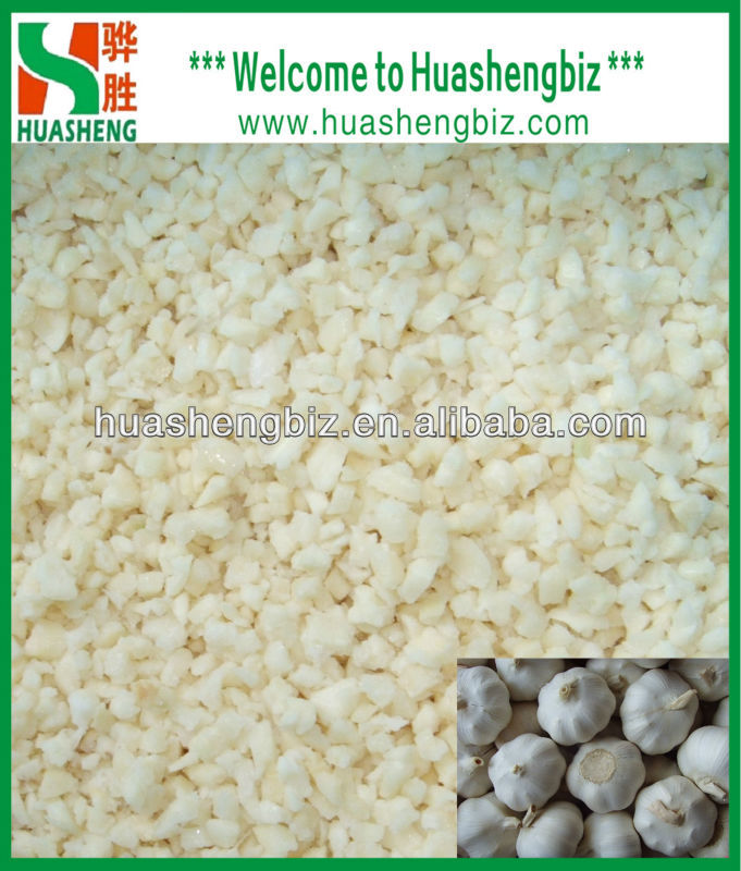 Wholesale Frozen Chopped Garlic Cubes