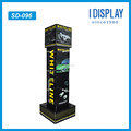 4 sides Cardboard Display Rack For car accessories