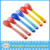 2016 Hot sell BPA free Newborn Silicone Baby Spoons