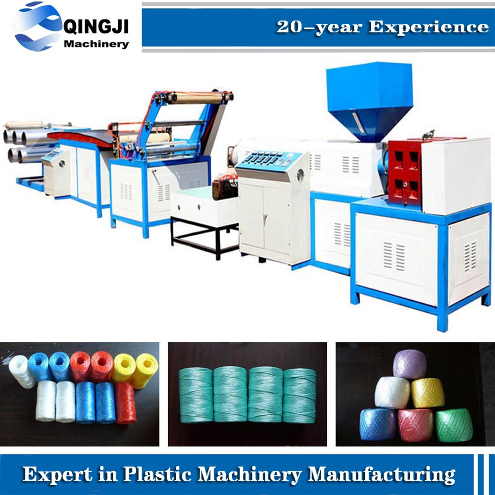 Plastic Rope machine/Lacerated Film Making Production